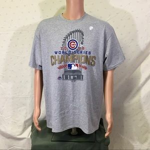 World Series Champions Chicago Cubs 2016 MLB  T
